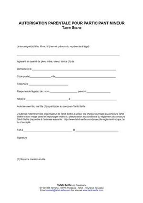 Lettre De Prise En Charge Visa Schengen Calam 233 O Autorisation Parentale Pour Participant Mineur