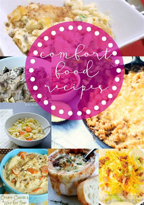 cold weather comfort food recipes comfort food recipe roundup taylor bradford