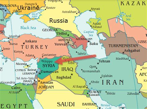 middle east map russia russia and middle east