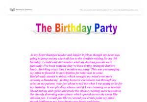 My Birthday Essay by My Birthday Celebration Essay Writefiction581 Web Fc2