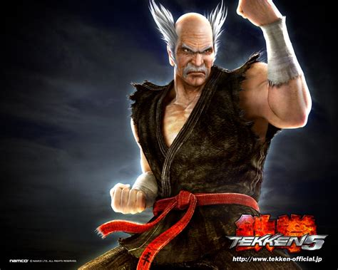 game wallpaper tekken 5 heihachi mishima