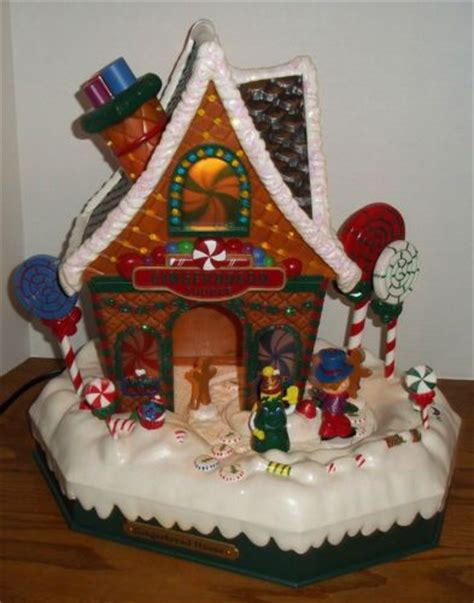 musical christmas house holiday living christmas musical gingerbread house lights motion