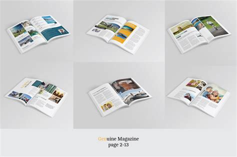 20 Premium Magazine Templates For Professionals Inspirationfeed Magazine Template