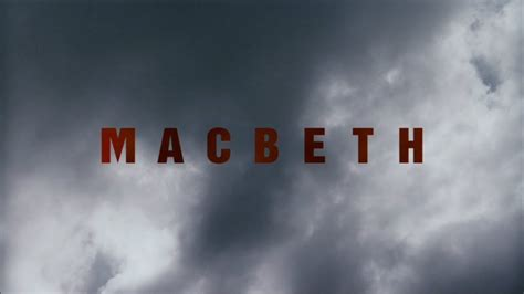 strong themes in macbeth quiet cool geoffrey wright s macbeth 2006