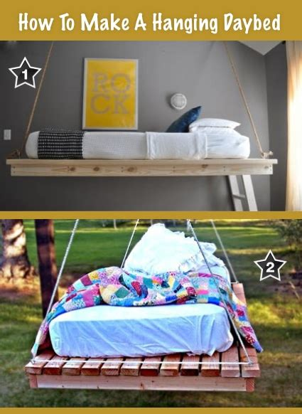 how to make a daybed pin hanging outdoor daybed and hammock chair designs add