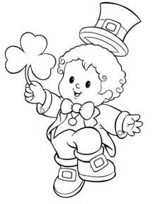 Printable st patrick s day coloring pages for toddlers educational