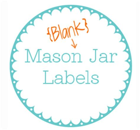 mason jar label template new calendar template site