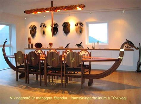 viking longboat table pin by c mackie on stufff pinterest table dining room
