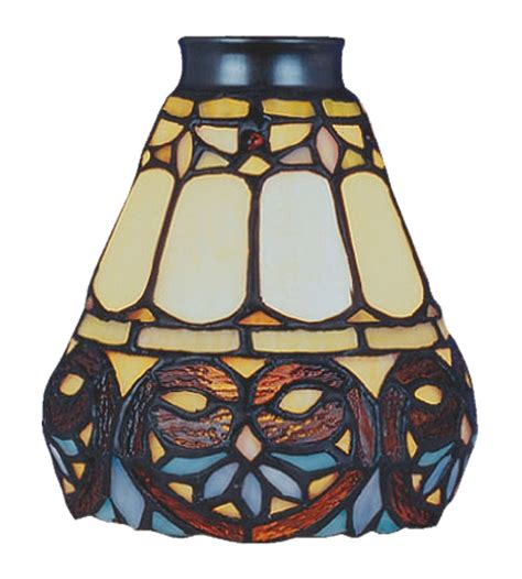 stained glass ceiling fan globes stained glass l shades for ceiling fans integralbook com