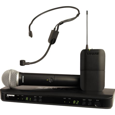 Headset Shure shure blx1288 p31 dual channel headset blx1288 p31 j10 b h