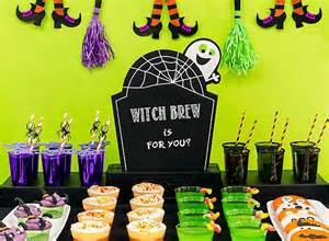 How To Decorate A Halloween Party Kid Friendly Halloween Drink Ideas Party City