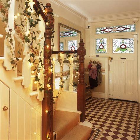 christmas themes for hallways fairy lit christmas hallway christmas decorating ideas