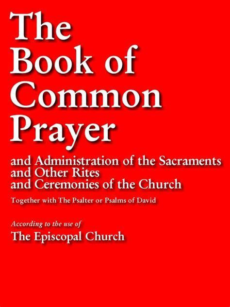 the common books 1979 book of common prayer