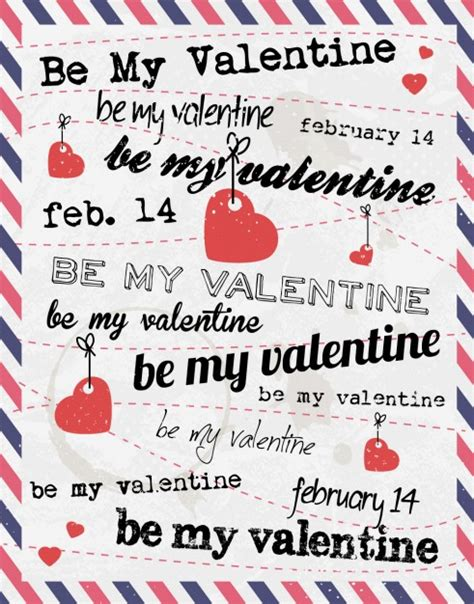 valentines letters valentines card with letter style vector free