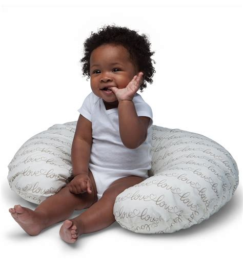 Boppy Nursing Pillow With Slipcover boppy nursing pillow with slipcover letters