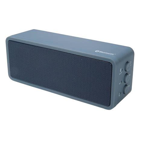 Sepeaker Blutoth portable bluetooth speaker grey kmart