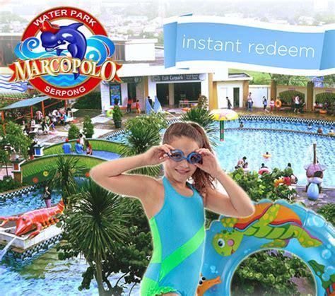1 Tiket Masuk Marcopolo Water Park promo spesial marcopolo waterpark 1 dengan rp 15 000