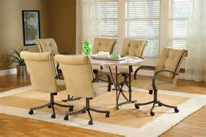 Cheap 7 Piece Dining Room Sets Chromcraft Dinette Sets With Casters Images
