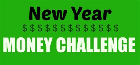 change money for new year 52 week money challenge