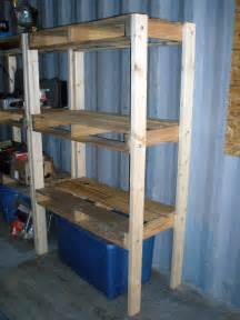 shelves made from pallets kie guide how to build a 4x8 storage shed