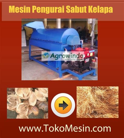 jual mesin pengurai sabut kelapa di yogyakarta toko