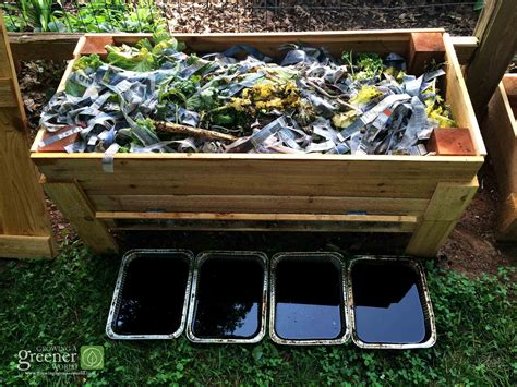 how to build a worm bed how to make our diy worm bin growingagreenerworld com
