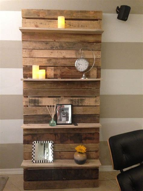 Step Shelves Living Room by Creative And Engaging Designs Featuring Pallet Shelves