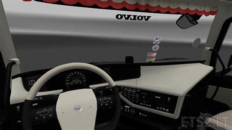 New 1 Pack Set Emblem Mobil Interior Exterior Variasi Mobil Aksesorie 1 volvo interior ets 2 mods