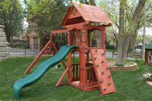 Small Playsets For Small Backyards by The Perfect Wooden Swing Sets For Small