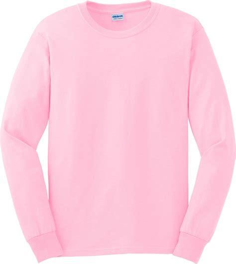 Light Pink Sleeve Shirt by Gildan Ultra Cotton Ultra Cotton Sleeve T Shirt