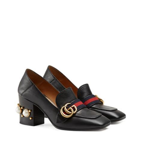 Guccis Bouvier Mid Heel Moccasins by Gucci S Shoes S Moccasins Loafers