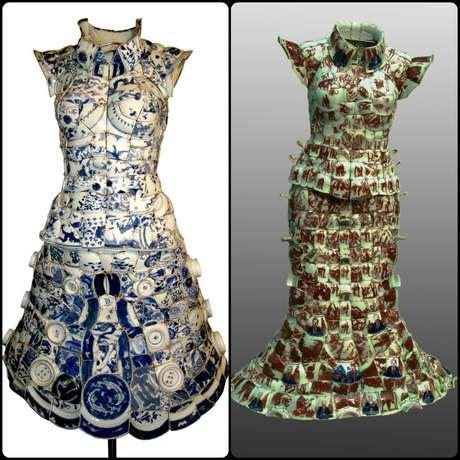 galleries vestidos elaborados con material reciclable flickr vestido hecho con material reciclado imagui
