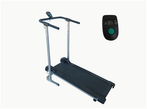 Treadmill Id 6638 M health fitness sf t1407m manual walking treadmill