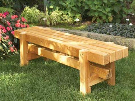 homemade wood bench modern benches diy wooden benches outdoor homemade