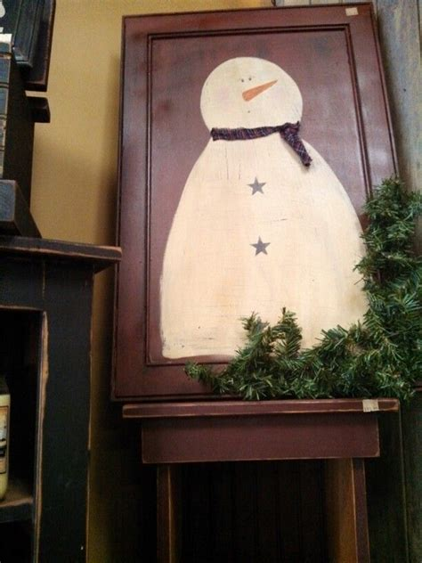 Cabinet Door Projects Snowman Cabinet Door Crafts