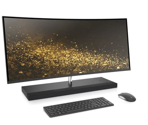 Hp Lg Curve hp s envy 34 curved all in one slims for ces 2017