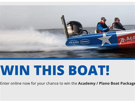 Bassmaster Boat Giveaway - academy sports bassmaster classic sweepstakes