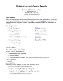 how to write resume for internship recentresumes