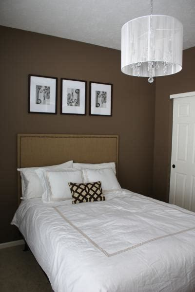 bedroom with brown walls bedroom behr