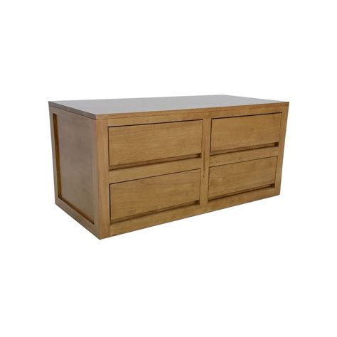 Commode Basse by Commode Basse Moderne H 233 V 233 A 4 Tiroirs Olga Pier Import