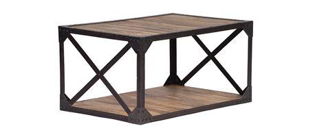 Table Basse Bois Et Metal 99 by Table Basse Bois Massif Et M 233 Tal Industrielle Atelier