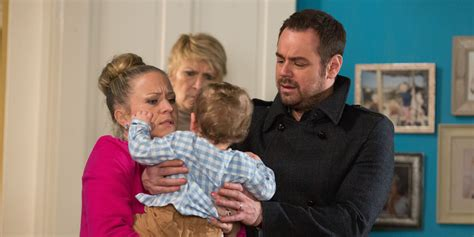 why is nancy leaving eastenders eastenders spoiler mick carter loses his temper as lee