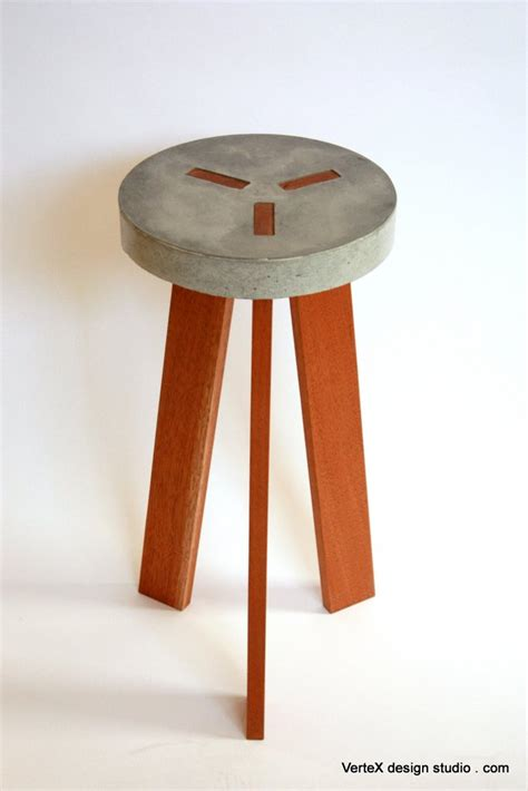 Concrete Stool Diy by Y Concrete Stool