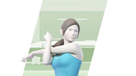super smash bros ultimate wii fit trainer wallpapers cat