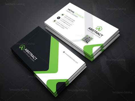 corporate card template corporate business card design template catalog
