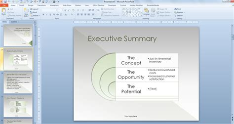 Sales Proposal Powerpoint Template Free Sales Presentation Template