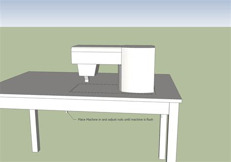 how to a sewing table blue dinosaurs sewing table