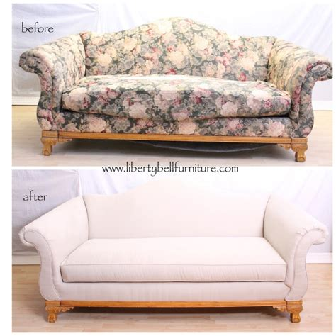 Sofa Reupholstering Liberty Bell Furniture Repair Reupholster Leather Sofa