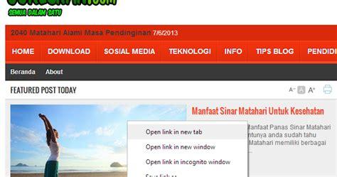 membuat link new tab di html cara membuat link new tab otomatis di blog goreskan