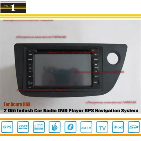 for acura rsx 2002 2006 radio cd dvd player gps navigation system double din car audio